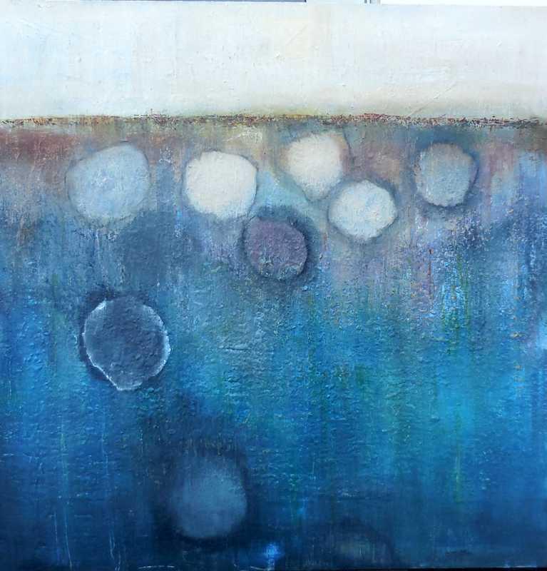 Liz Tracey art - Soft Pebbles